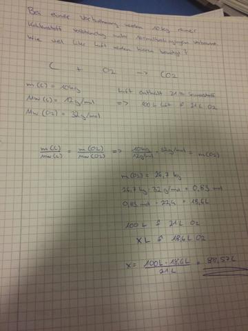 Aufgabe - (Chemie, Naturwissenschaft)