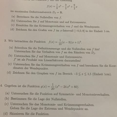 Nur aufgabe 3 - (Schule, Mathe, Hausaufgaben)