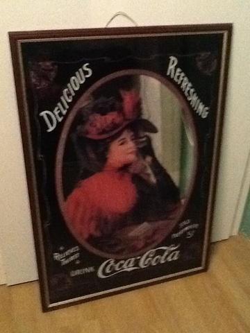 Wer Kann Mir Einen Ungefähreen Wert Dieses Coca Cola Spiegel Nennen