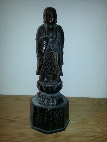 Unbekannte Bronze-Statue - (Asien, sammeln, Antik)