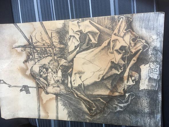 Wer Kann Mir Sagen Ob Dieser Kupferstich Von Dürer Echt Ist Kunst
