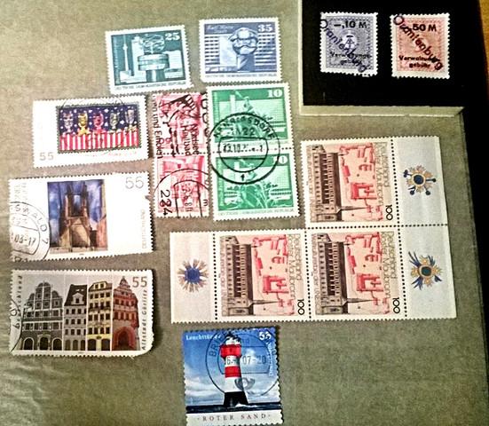 DDR Briefmarken und.. - (Wert, Briefmarken)