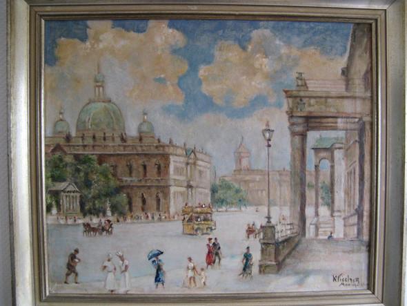 Bild vom Berliner Dom - (Künstler, Maler, Malerei)