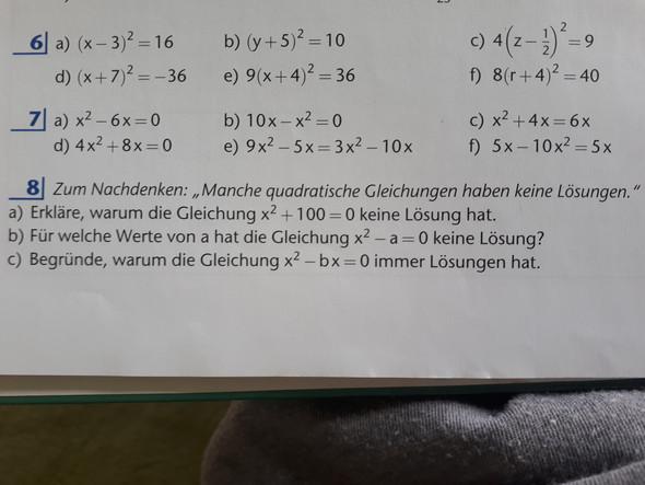 Wer kennt die Antworten auf diese Matheaufgabe?