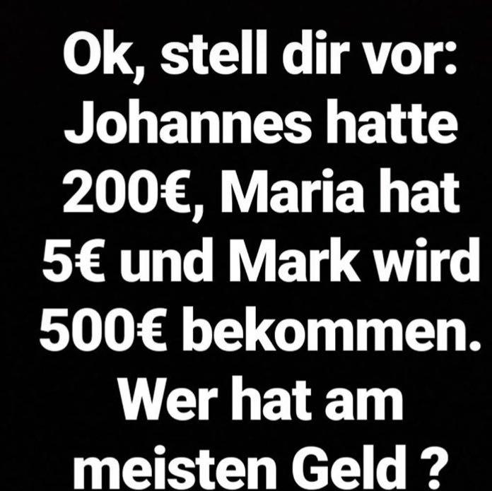 John Hatte 500 Euro Jonas Hat 400 Euro