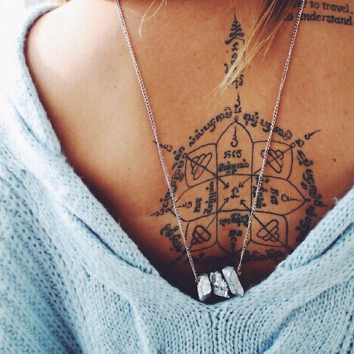 Wer Kennt Die Sprache Und Die Bedeutung Dieses Tattoos