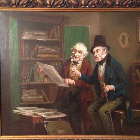 Ölbild - (Polen, Maler, Gemälde)