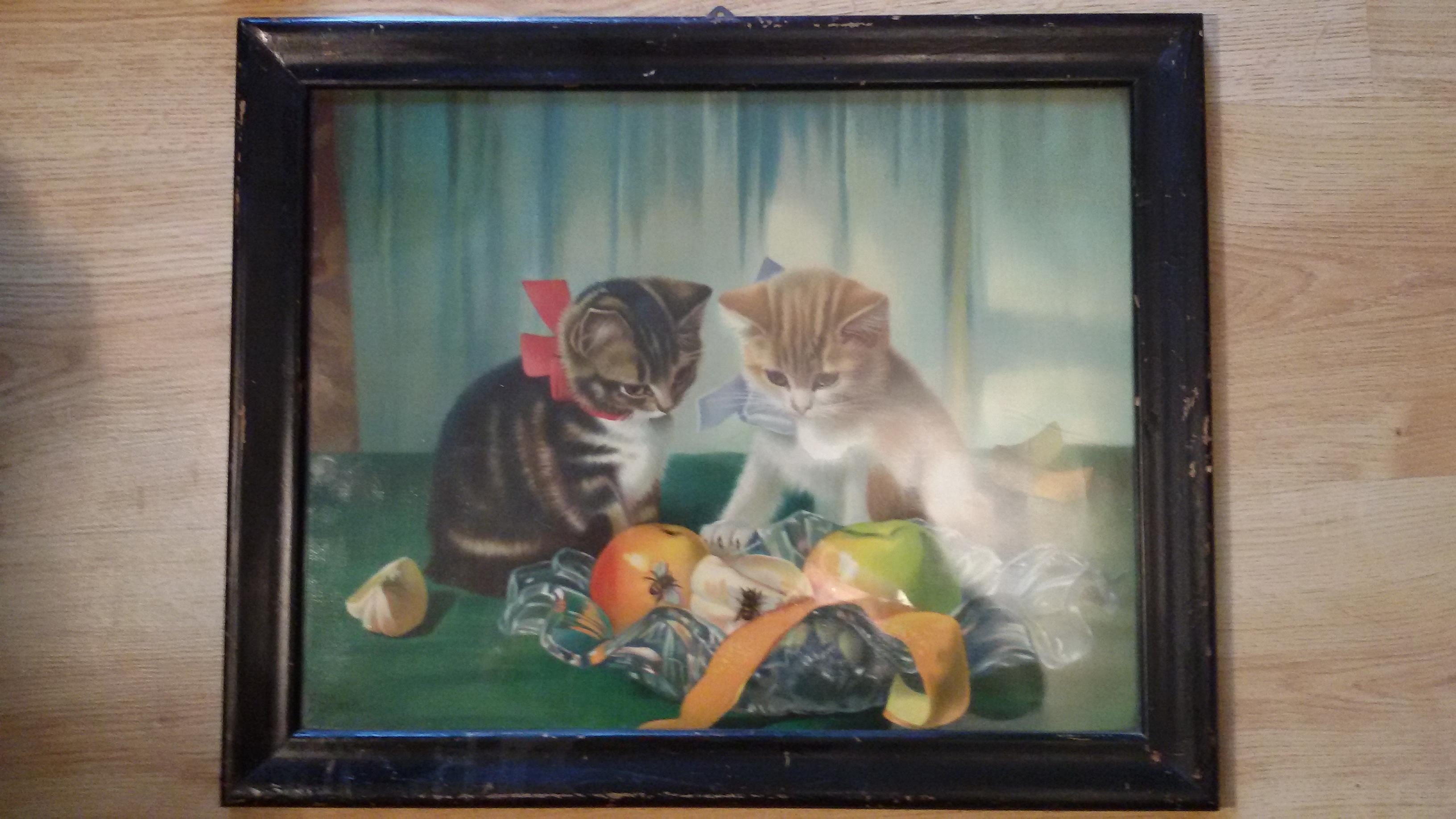 Wer Kennt Dieses Bild/Gemälde, Es Hat Auch Eine Zeichnung Mit Den Namen  Blain Oder Blair? (Bilder, Kunst, Künstler)