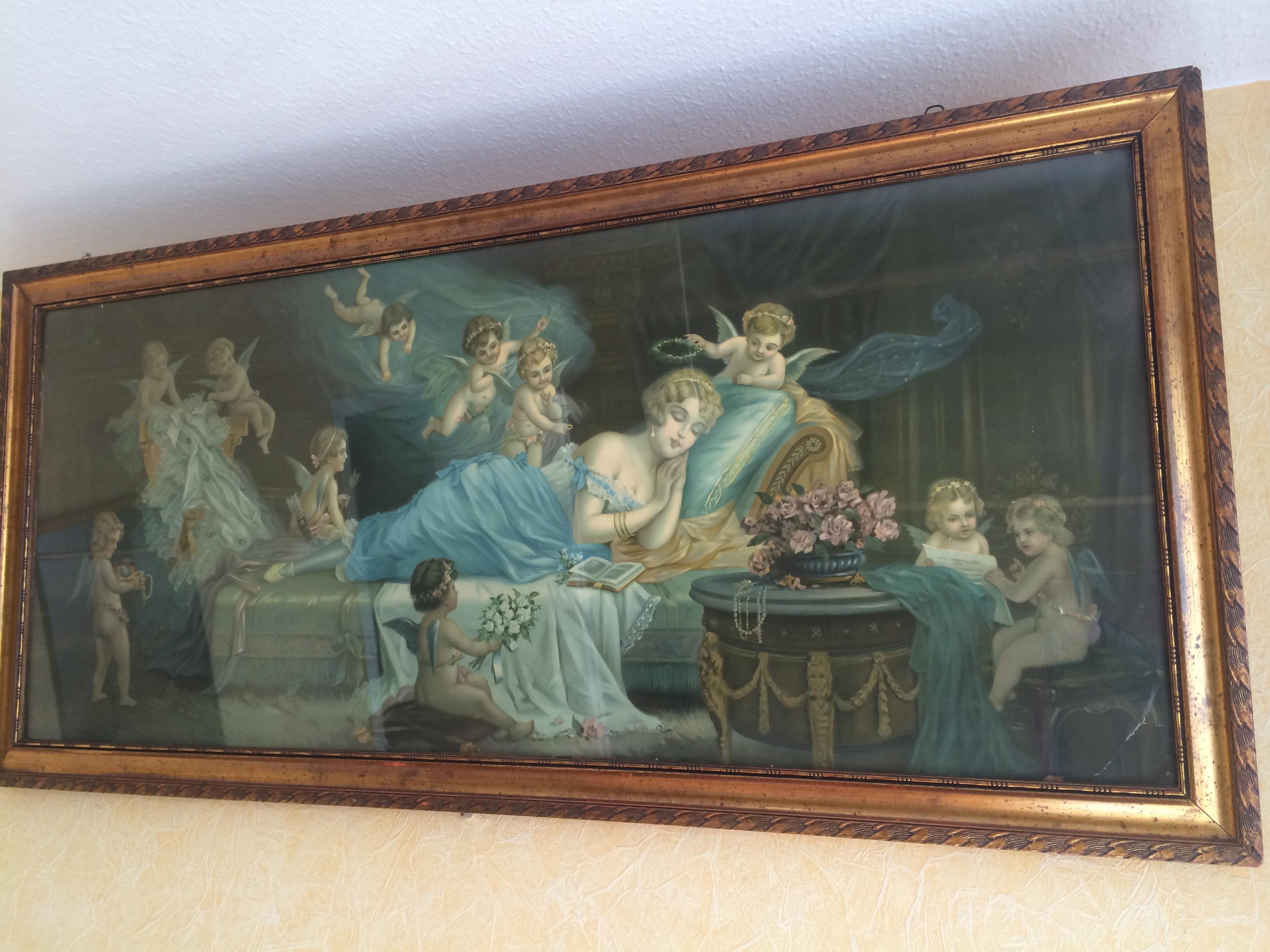 Wer Kennt Dieses Gemälde? Von Wem/wie Heißt Es? (Kunst