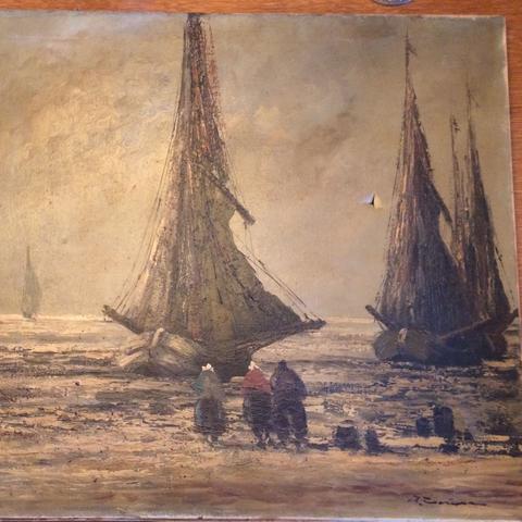 Bild  - (Holland, Maler, Schiff)
