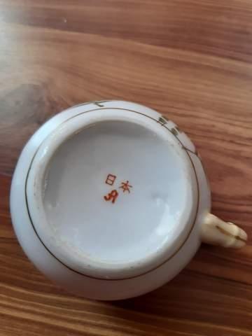 Wer kennt sich damit aus Japanisches Teeservice Set?