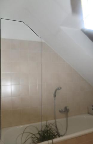 Wer kennt sich mit Umbau einer Badewanne zu einer Dusche aus (Dachschräge)?