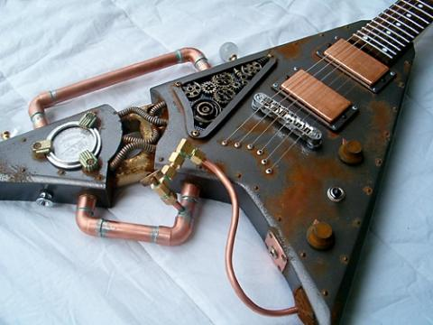 Wer Konnte Mir So Eine Gitarre Bauen Musik