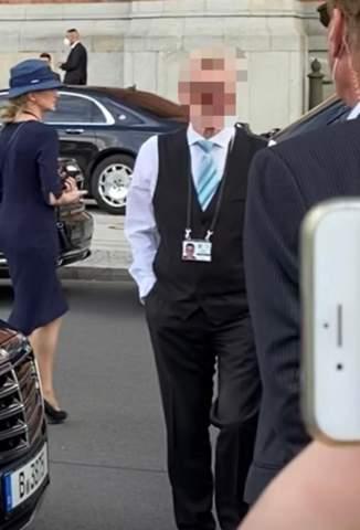 Wer sind diese Leute bei der niederländischen Königlichen Hoheit?