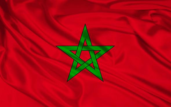 Die Flagge Marokkos wurde am 17. November 1915 offiziell eingeführt.  - (Marokko)