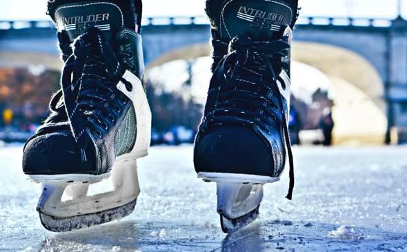 Wer war schon Schlittschuhlaufen oder Skifahren?