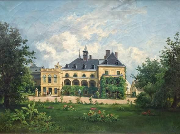 Wer weiß wo diese Villa in Österreich liegt?