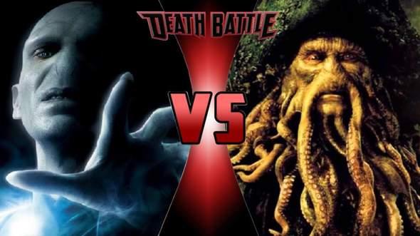 Wer Würde Einen Kampf Gewinnen: Lord Voldemort VS Davy Jones?