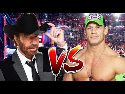 Wer Würde Gewinnen: Chuck Norris VS John Cena?