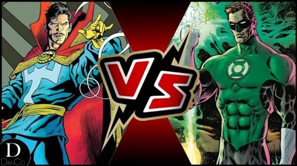Wer Würde Gewinnen: Dr. Strange VS Green Lantern?