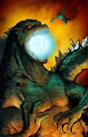 Wer Würde Gewinnen: Godzilla VS Hulk?