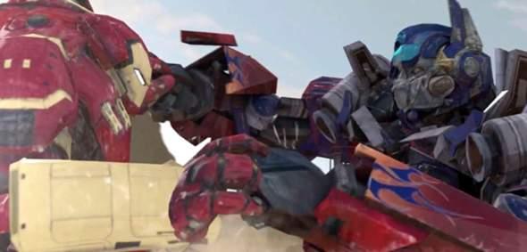 Wer Würde Gewinnen: Ironman VS Optimus Prime?