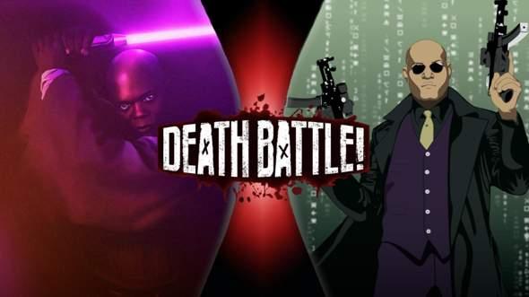 Wer Würde Gewinnen: Mace Windu VS Morpheus?
