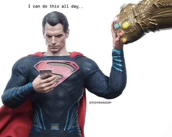 Wer Würde Gewinnen: Superman VS Thanos?
