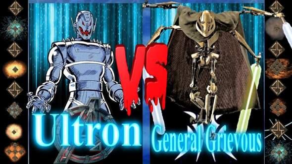 Wer Würde Gewinnen: Ultron VS General Grievous?