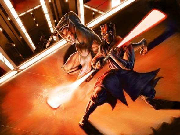 Wer Würde Gewinnen: Wolverine VS Darth Maul?