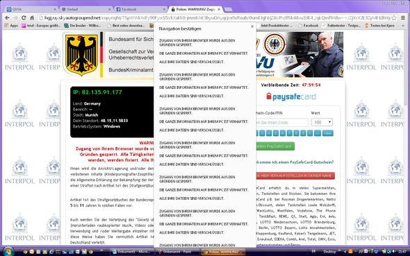 Banner - (PC, Internet, Polizei)