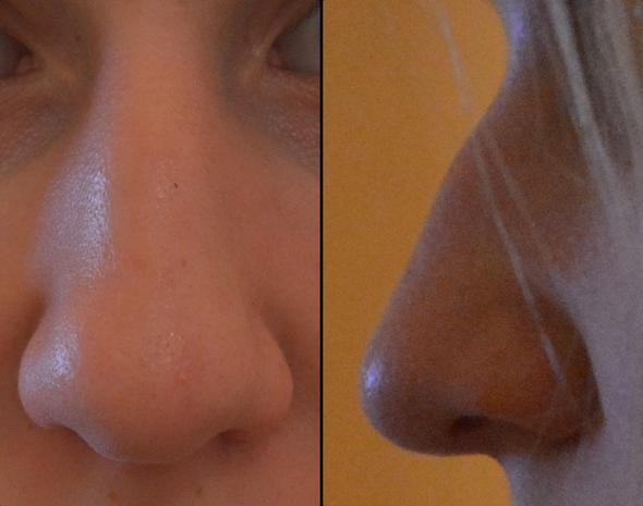 Meine Nase - (Mobbing, traurig, Nase)