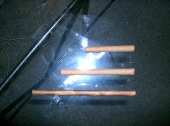 Zigarettenlänge  - (rauchen, Arbeitszeit, Raucherpause)
