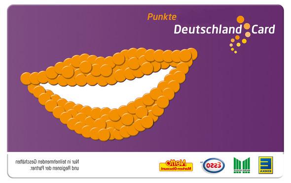- (Einkauf, Punkte sammeln, Deutschlandcard)