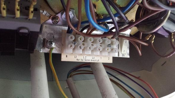 Wer kann mir sagen, welche Kabel in welchen Anschluss müssen?