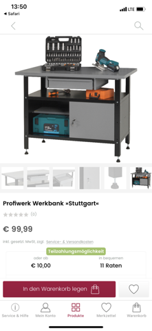 Werkbank von Universal/Otto?