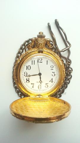 Uhr golden innen - (Wert, Antik, Vererbung)