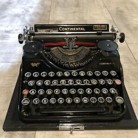 Wert dieser Schreibmaschine?