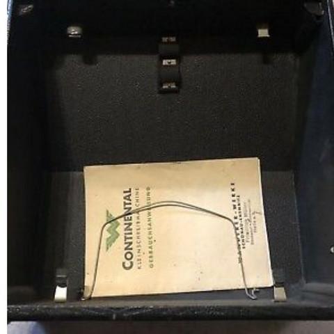 Continental Schreibmaschine Wert
