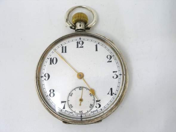 Wert einer 1900er Silber Taschenuhr?