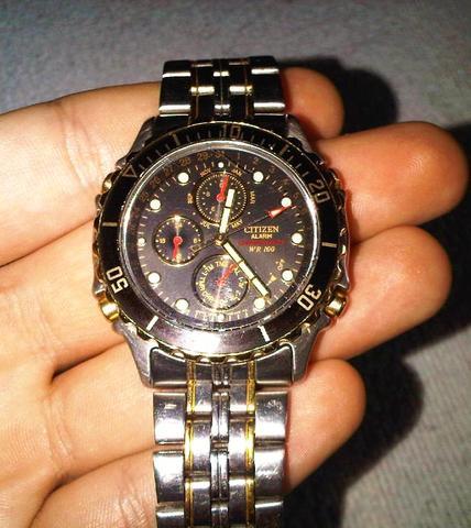 Citizen WR 100 Chronograph - (Finanzen, Verkauf, Uhr)