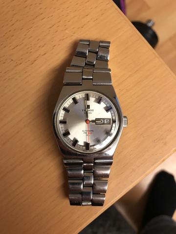 Wert von einer Tissot Swiss automatic PR 516 GL 1970er?