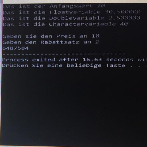Ausgabe - (Computer, PC, programmieren)