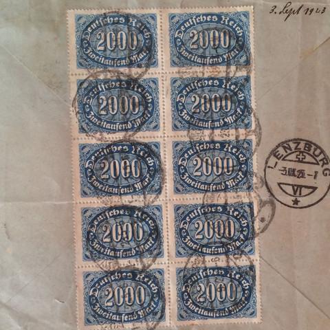 ...... - (Deutschland, Briefmarken, Sammler)