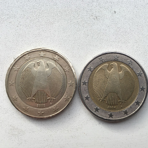 Wertvolle Fehlprägung Geld Fehler Euro