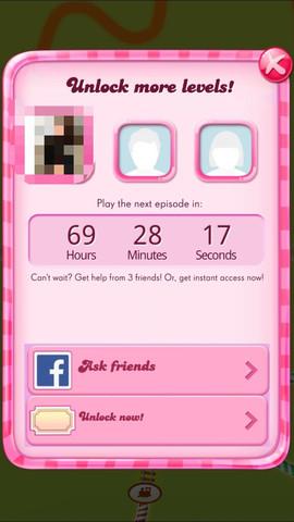 Der Bildschirm, der meine Wartezeit anzeigt. - (Handy, Spiele, Games)