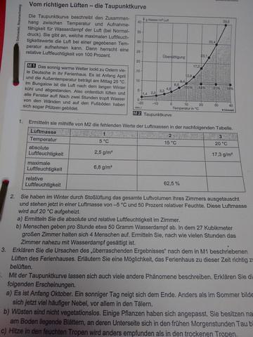 - (Schule, Physik, Erdkunde)