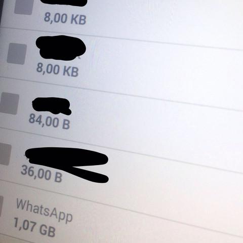 Whatsapp Fehler - (Smartphone, Android, WhatsApp)