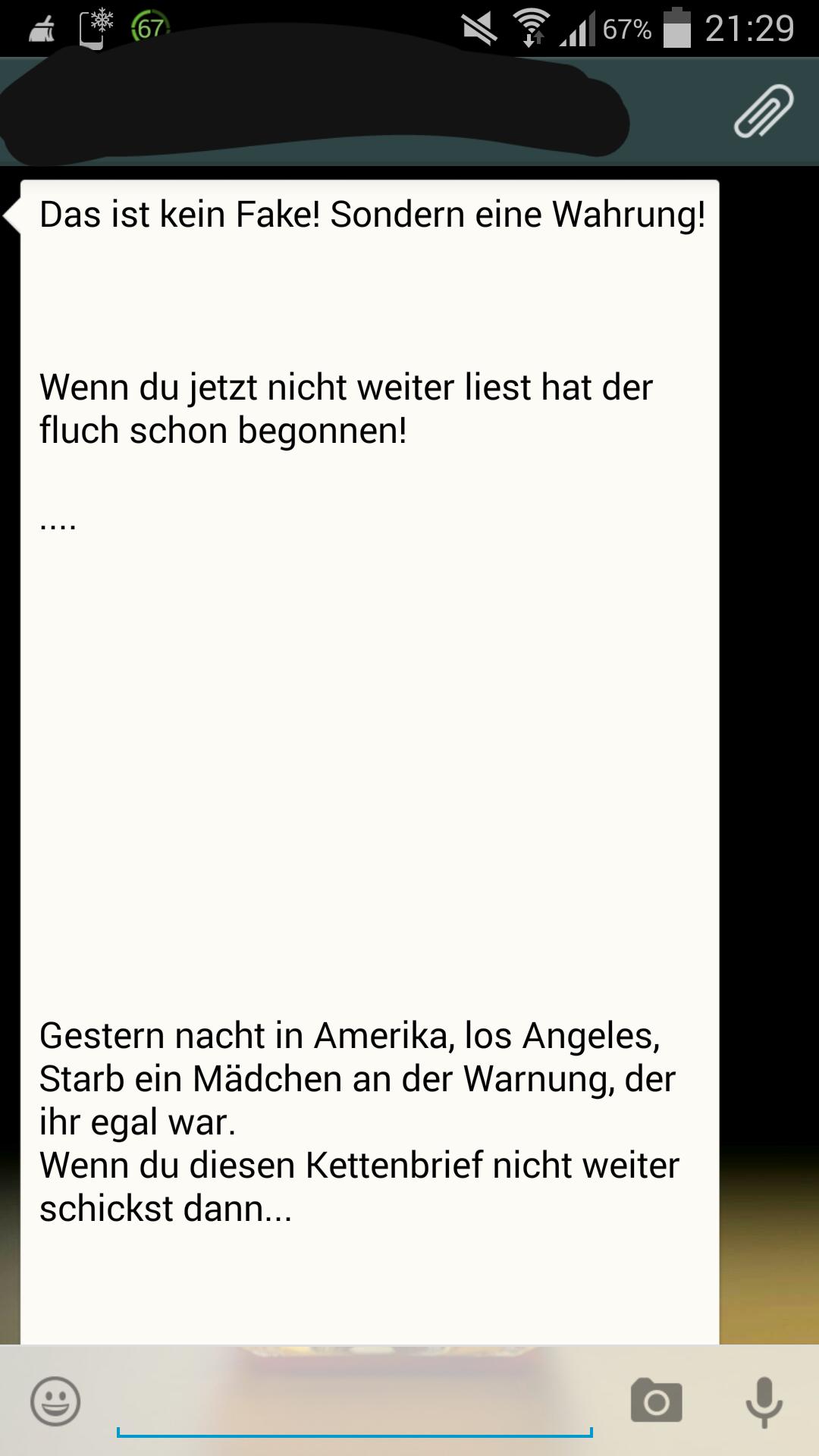 Kettenbriefe Für Whatsapp Zum Antworten