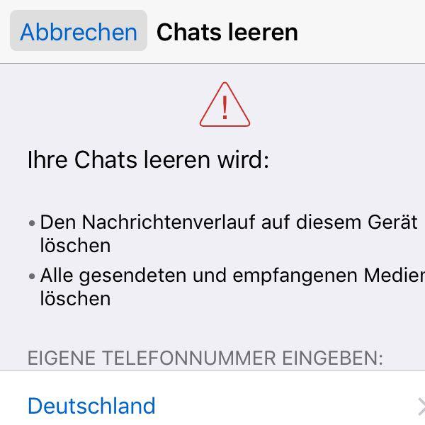 Iphone bilder aus whatsapp löschen